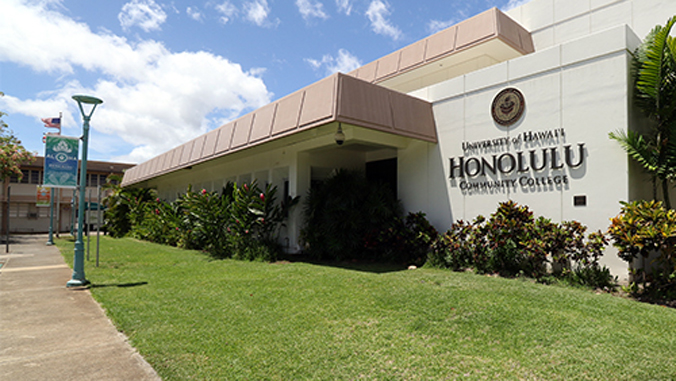 Honolulu CC campus