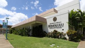 Exterior of Honolulu Community College building