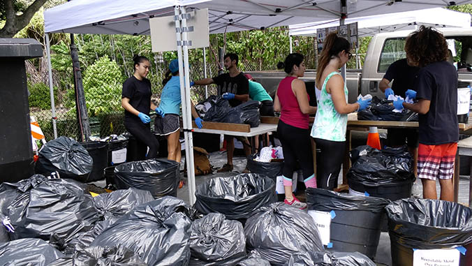 Students Get Their Hands Dirty In Zero-waste Push