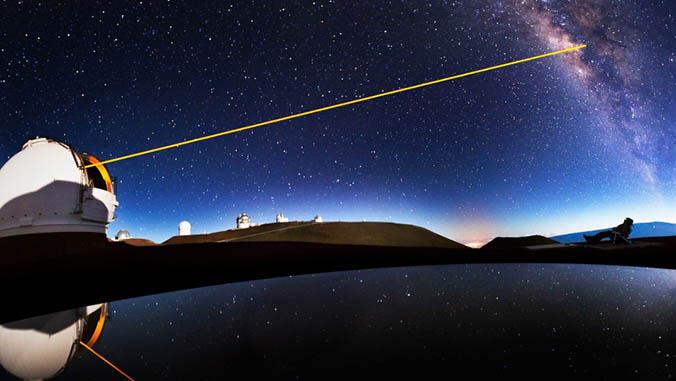 Maunakea Observatory Awarded NSF Grant To Upgrade Adaptive Optics