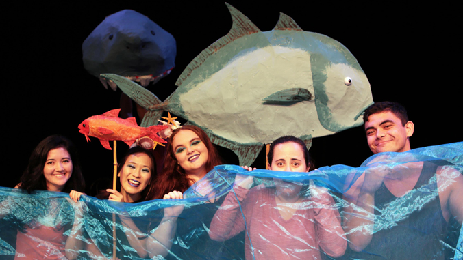 Nanaue The Teenage Sharkman's World Premiere At Palikū Theatre