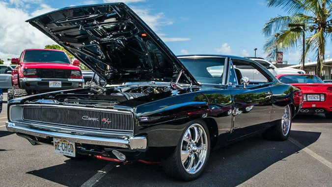 1968 black Doge Charger