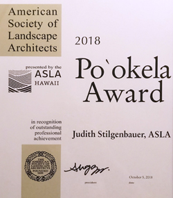 Pookela Award certificate