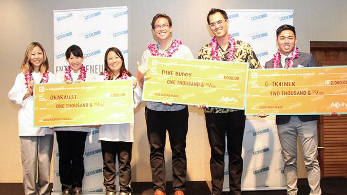UH Breakthrough Innovation Challenge winners