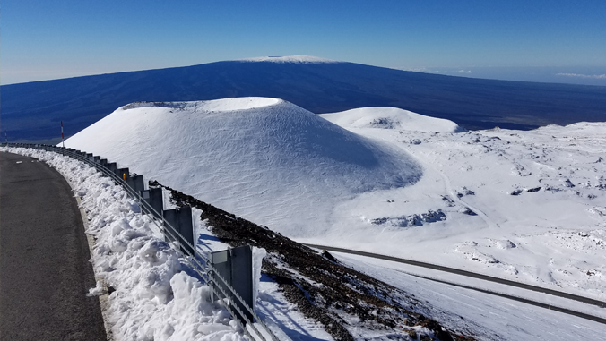 Maunakea permafrost shrinking according to OMKM sponsored research