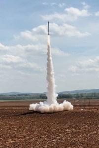 Project Imua rocket launching
