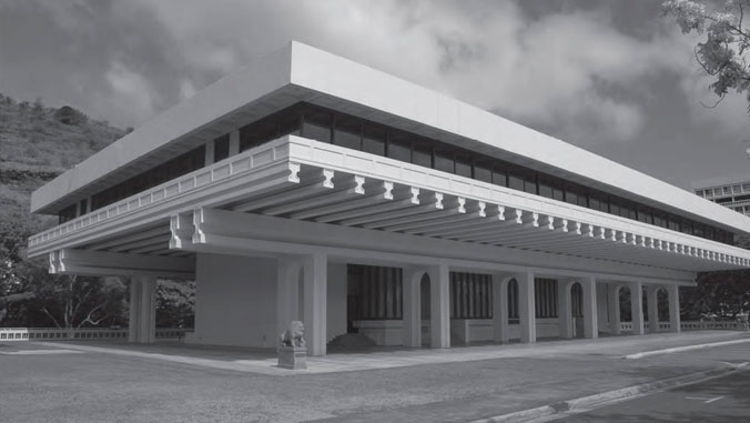 Outside view of building