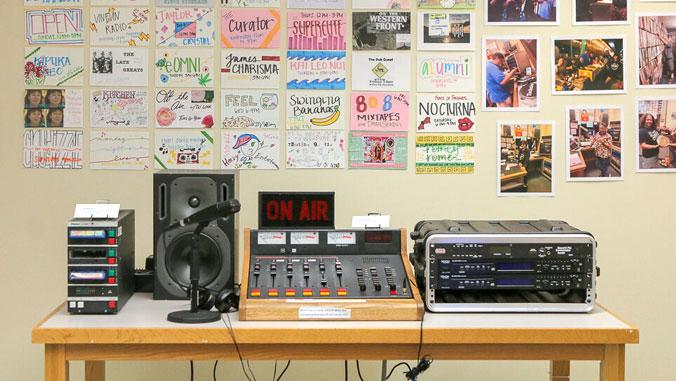 old radio equipment