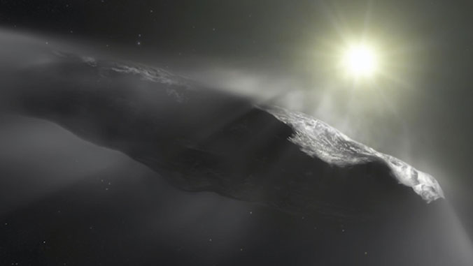 Oumuamua interstellar object