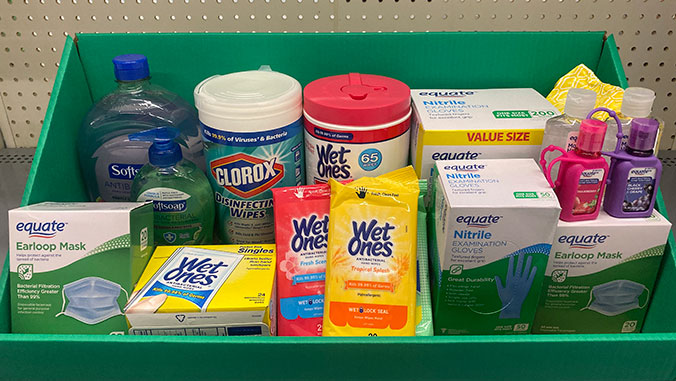 medical disinfecting supplies