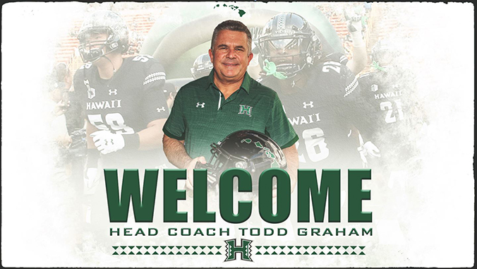 UH introduces new football coach Graham