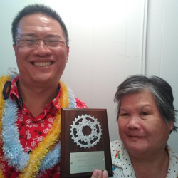 anthony chang and family member