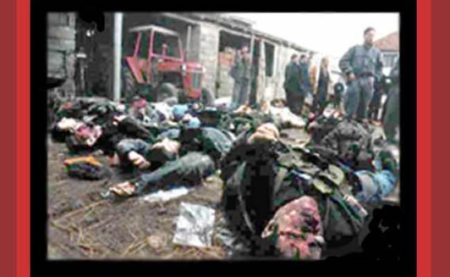 Serbia Genocide In Kosovo