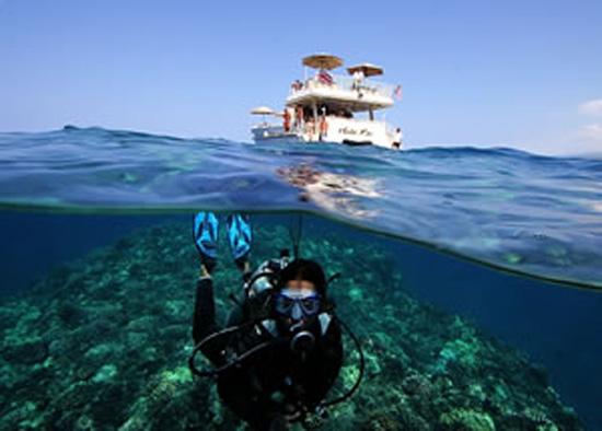 Summer specials include discounts on Hula Kai cruises. (Photo courtesy of Fair Wind)