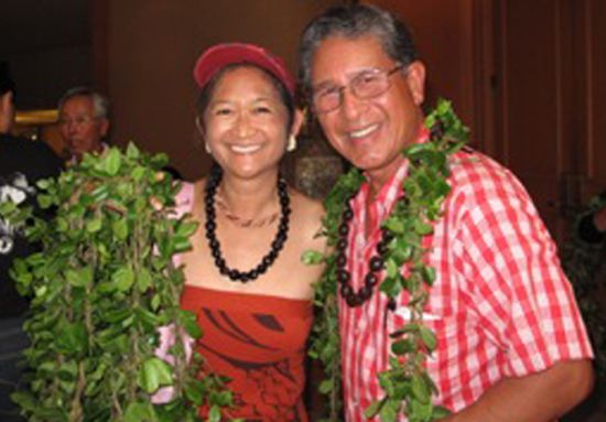 Anna and Danny Akaka. (Photo courtesy of Mark Carpenter)