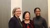 Sister Simone Campbell, Sen. Mazie Hirono and Nyah Potts.