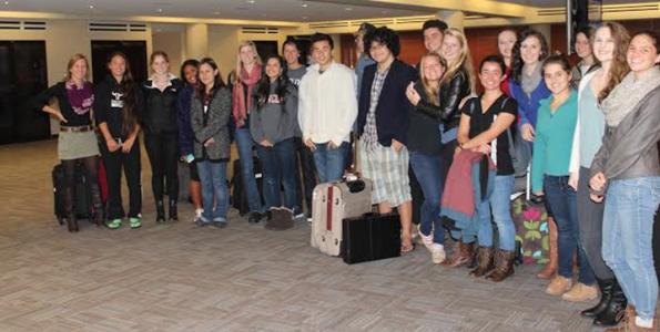 Parker School students visit Maine