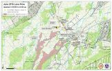 Kilauea June 27 Lava Flow map updated 8 a.m., January 18, 2015. Courtesy of Hawaii County Civil Defense