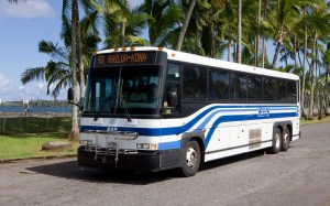 Hele-On Bus. File Photo courtesy of the Office of the Mayor, County of Hawaii