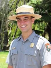 Park Ranger Noah Gomes. Photo courtesy NPS