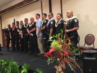 Officer of the year candidates