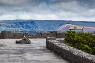Jaggar Museum overlook damage. NPS Photo