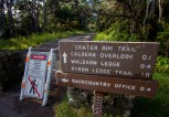 There are areas still closed at Hawaii Volcanoes National Park due to seismic damage during the Kilauea Volcano activity. Photography by Baron Sekiya | Hawaii 24/7