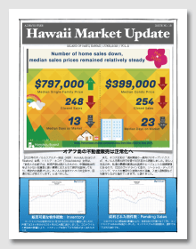 Hawaii Market Update No.15