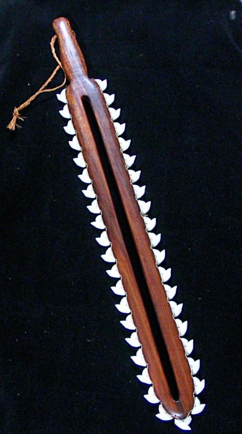 hawaiian artifacts shark tooth