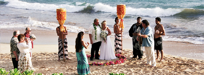 Maui Weddings  Traditional Hawaiian Wedding