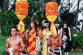 Traditional Hawaiian Wedding  Hawaii Wedding Services