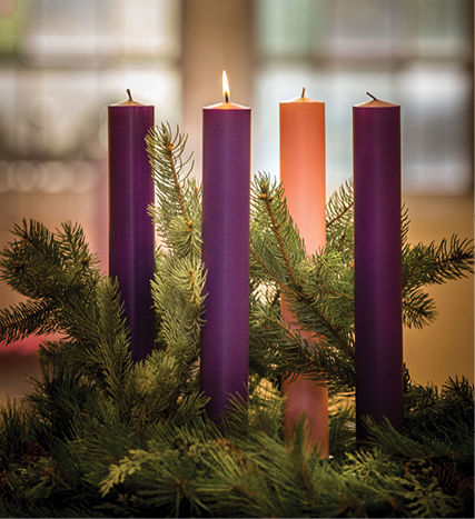Image result for 1st sunday of advent wreath