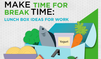 Half of Americans don't take a lunch break. This makes us less productive and more anxious and tired. Use our lunchbox ideas for work for fueling up during a proper lunch break.