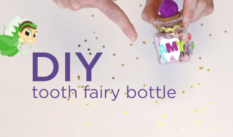 DIY: A Very Fairy Tooth Bottle