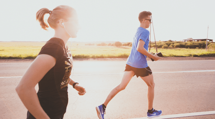 What benefits does running have