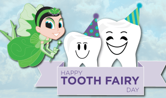 """Use this step-by-step guide to create the """"Tooth Fairy and Baby Tooth"""" matching costume set for National Tooth Fairy Day, Halloween, or your kids' costume box!"""