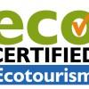 Ecotourism logo certified eco