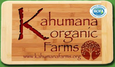 Sign for Kahumana Farm an Intentional Community In Oahu
