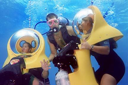 Under Water - Hawaii Adventure Travel