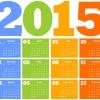 Event Calendar for 2015