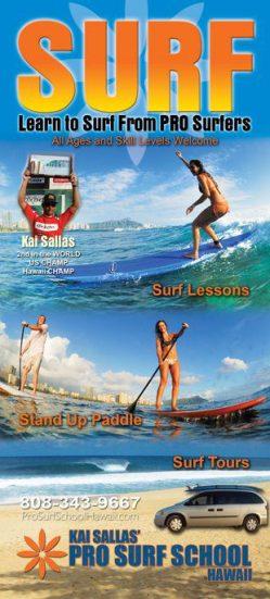 Kai Sallas Pro Surf School - Oahu Adventures & Ecotourism