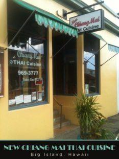 New Chiang Mai Thai - Hilo Vegetarian Restaurants