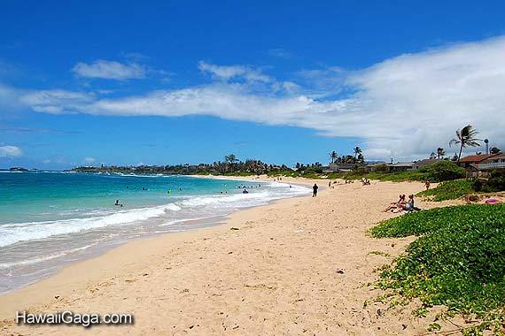 Hukilau Beach Park Oahu