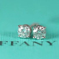 Tiffany 1 Carat Diamond Earrings 389 Best Fashion Jewelry ...