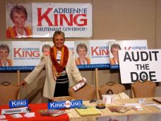 Adrienne King, candidate for Lt. Governor