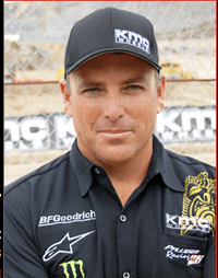 Alan Pflueger, in addition to running the family auto business, is a winning race car driver like his father James Pflueger was