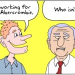 working for neil abercrombie cartoon
