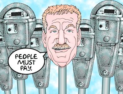 Honolulu Mayor Peter Carlisle wants more parking meters.