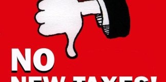 No New Taxes