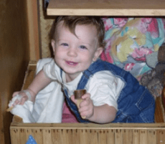 Rowan Fehring Dingwall was turning two years old when he died